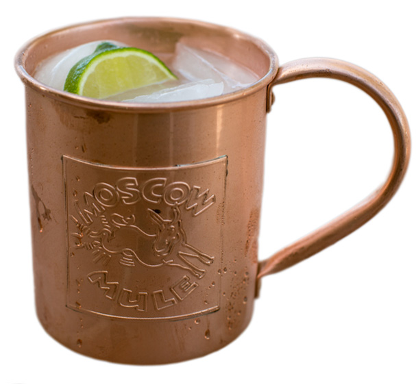 ... mention the famous and delicious moscow mule which has surged in