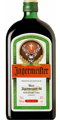Is deer blood in jager